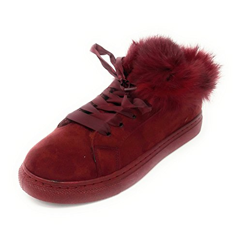 rosso vivo top JT Low Donna 4ppHfqRwxn