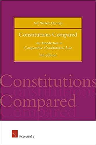 Book's Cover of Constitutions Compared: An Introduction to Comparative Constitutional Law (Anglais) Broché – 9 août 2019