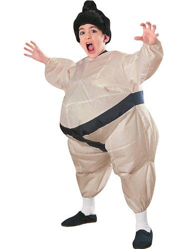 Children's Sumo Costume (Inflatable Sumo Child Costume - One)