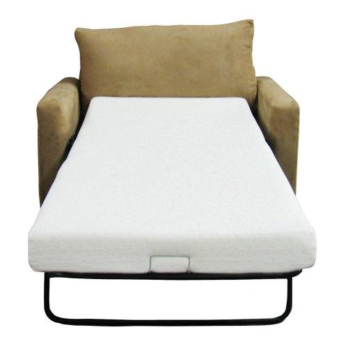Classic Brands Sofa Bed, Full, White