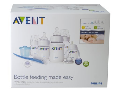 Philips AVENT BPA Free Classic Infant Starter Gift Set, Pack of 2 by Philips AVENT (Image #2)