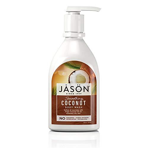 - JASON Smoothing Coconut Body Wash, 30 Ounce Bottle