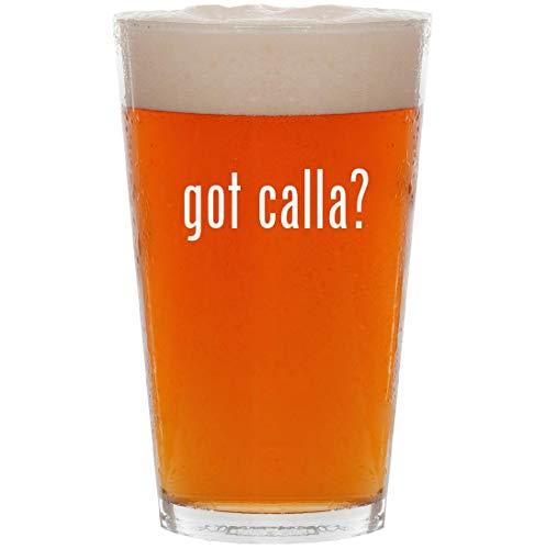 got calla? - 16oz All Purpose Pint Beer Glass