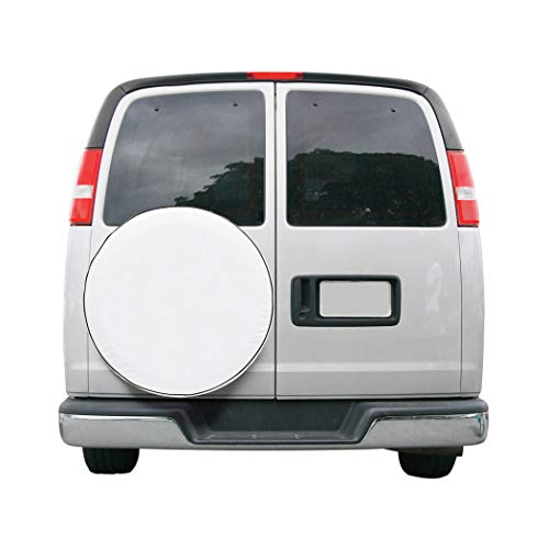 Classic Accessories 75140 OverDrive Custom Fit Spare Tire Cover, White, 28