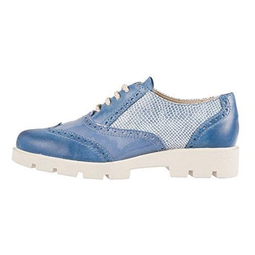 Flexx - Zapatos de cordones para mujer blank Denim
