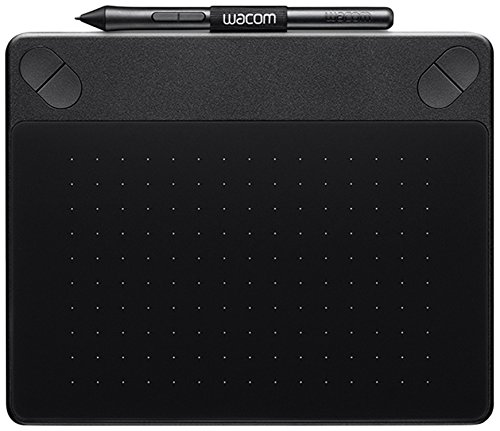 Wacom CTH-490AK-S Intuos Art Stift-Tablett (Touch S inklusive Softwaredownload von Corel Painter Essentials) schwarz