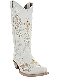 Women's Wedding Cowgirl Boots M50040