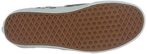 Vans - Zapatillas de skate de lona, unisex Verde (Van Doren Camo/White Checker)