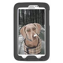 Bobj Rugged Case for Samsung Galaxy Tab PRO 8.4 inch, SM-T320 (WiFi), SM-T321 (3G & WiFi), SM-T325 (3G, 4G/LTE & WiFi) (Not for Tab3 8 inch) - BobjGear Protective Tablet Cover (Bold Black)