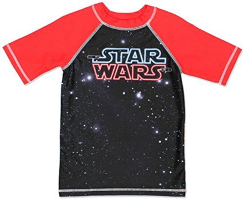 Star Wars Disney Boy's Rash Guard Black, 4