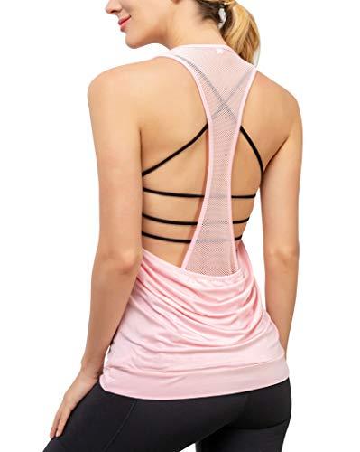Women's Yoga Tank Activewear Mes...