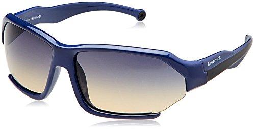 Fastrack Gradient Sport Men's Sunglasses – (P330BU2 Blue Color)