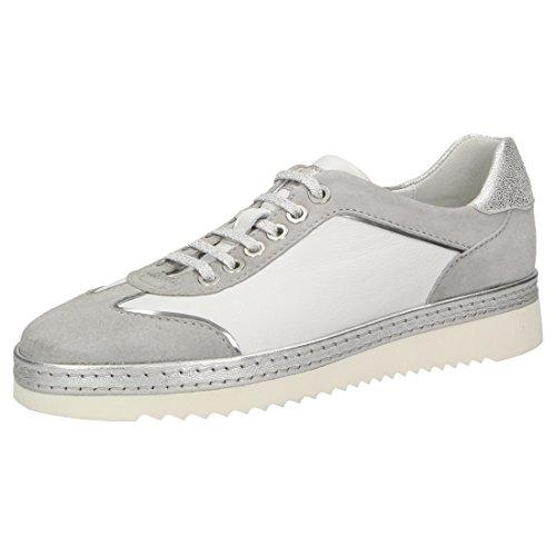 Sioux Damen Oxiria-701-Xl Sneaker, Weiß