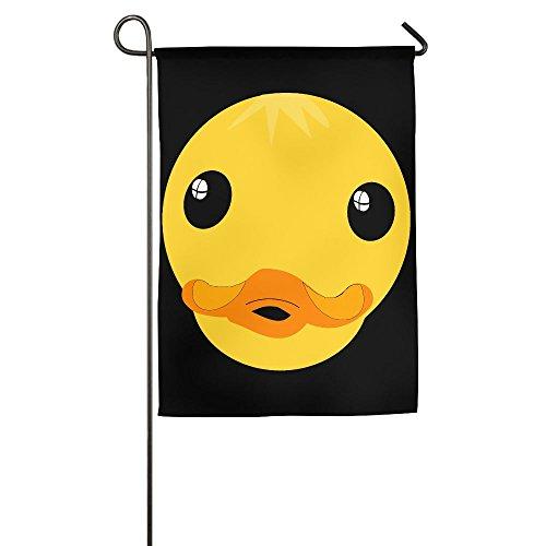 LLiYing-D Clipart Duck Face Printed Gift Flag