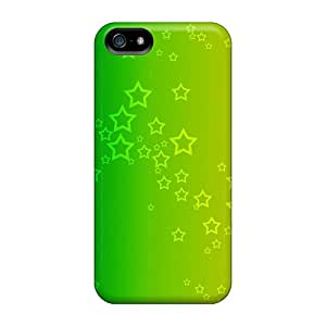 Snap-on Cases Designed For Iphone 5/5s- A Rainbow Of Stars
