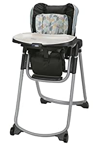 Amazon Com Graco Slim Spaces Folding High Chair Trail