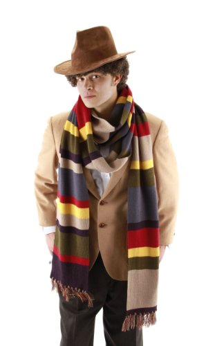 Women Who For Halloween Doctor Costume (elope Doctor Who Fourth Doctor 6')