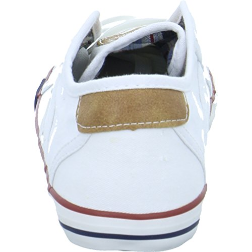 Sneakers Blanc 5803 Weiß 1 Mustang Enfant Basses 1 Mixte 305 qfdn0Zxt