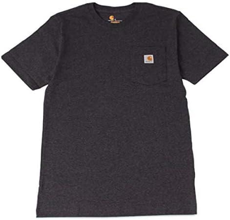 WORKER POCKET S/S T-SHIRTS カーハート Tシャツ 半袖 コットン K87 [並行輸入品]