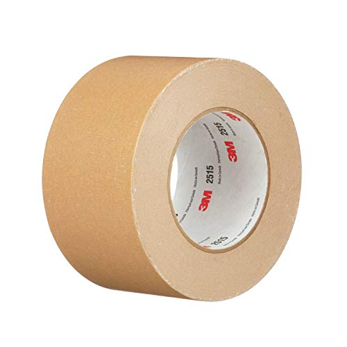 (3M 98877-case General Use Flat Back Tape 2515, 72 mm x 55 m, Tan (Pack of 12))