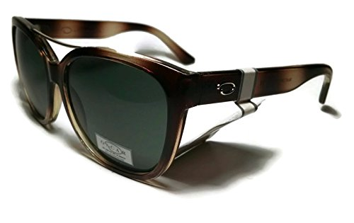 OSCAR BY OSCAR DE LA RENTA Brown Iridium Sunglasses 1281CE - Oscar De Renta Sunglasses
