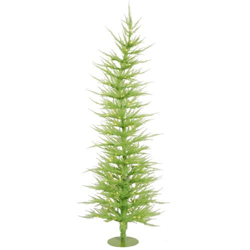 Vickerman Lime Green Laser Christmas Tree