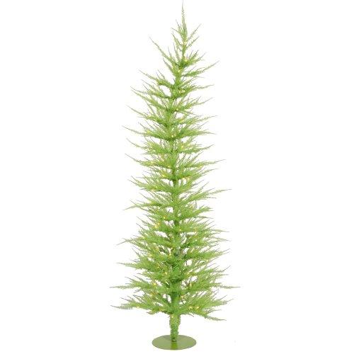 Vickerman Lime Green Laser Christmas Tree