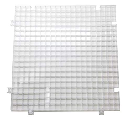 Creator's Waffle Grid 1-Pack – As Seen On HGTV/DIY Cool Tools Network – 100% USA – Solid Bottom Modular Surface – Glass…