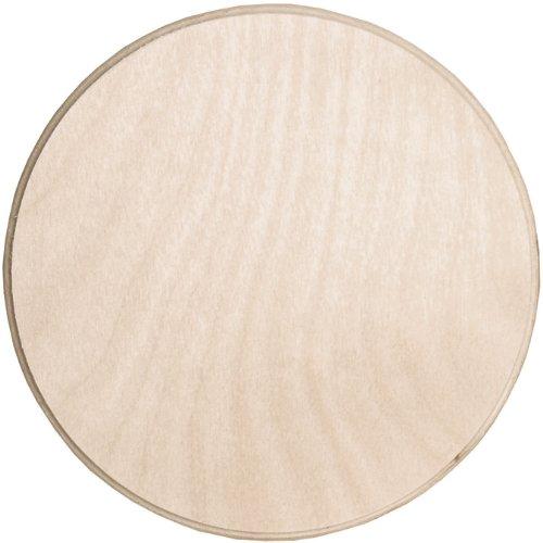 Walnut Hollow Baltic Birch Circle Plaque, 6 by - Wood Walnut Buy
