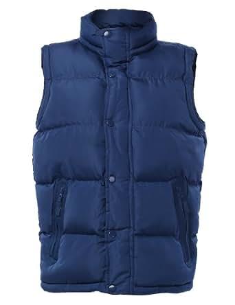 LE3NO Mens Down Puffer Vest Jacket