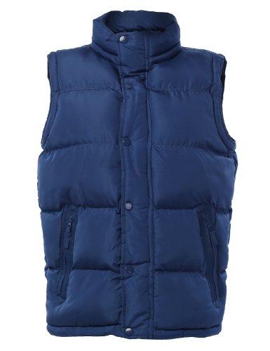 LE3NO Mens Down Active Puffer Vest Jacket