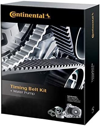 With Water Pump Continental GTKWP240C Timing Belt Component Kit