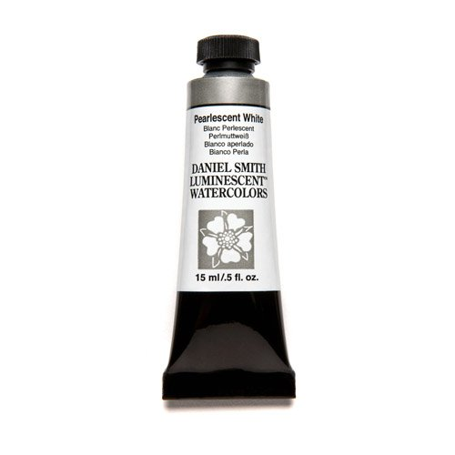 Daniel Smith Extra Fine Watercolor 15ml Paint Tube, Pearlescent - Material Pearlescent