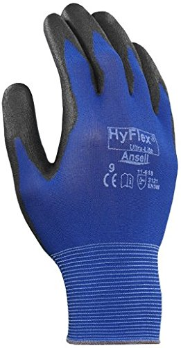 Ansell 012-11-618-9 General Purpose Glove with 18 Gauge Nylon Liner44; Size 9