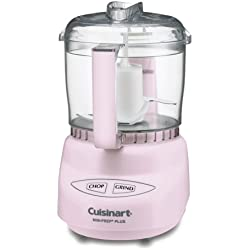 Cuisinart DLC-2APK Mini-Prep Plus Food Processor, 24 Ounce, Pink