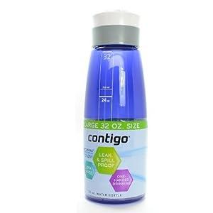 Contigo 32 oz Grace Autoseal Water Bottle (2, Cobalt)