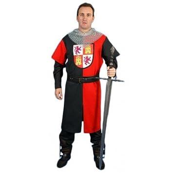 Traje Caballero Medieval con Heraldica de Castilla y León ...