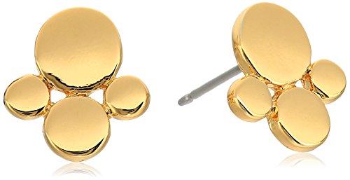 Diane von Furstenberg ''Summer Disco'' Circle Cluster Stud Earrings by Diane von Furstenberg