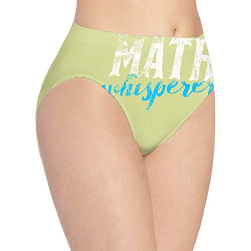 Anonymous Guest Women's Polyester Underwear Math Statistician Science Hipster Panties
