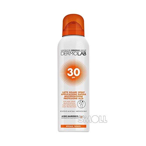 Dermolab solaire spray corps–Visage SPF30150ml