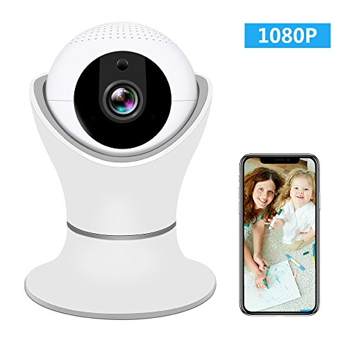Wireless IP Camera 1080P, SHome Wifi Home Security Surveillance IP Camera Remote View for Elder/Pet/Office/Baby...
