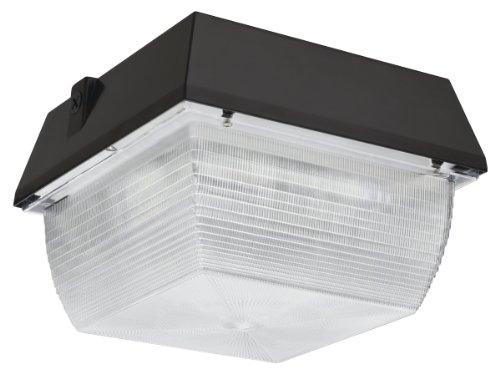 Lithonia Lighting VRC LED 1 50K MVOLT M6 Canopy/Ceiling LED Light, Dark Bronze