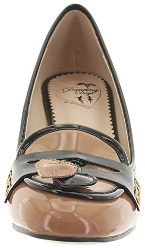 Shoes Black Court Praline Dancing Days Women's qwRxaR16f