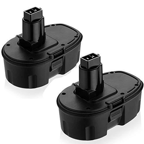 Topbatt Replace for Dewalt 18V Battery 3.0Ah XRP DC9096 DC9098 DW9095 DW9096 DW9098 DE9503 Cordless Power Tools 2Packs
