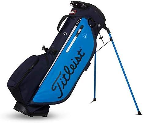 Titleist ゴルフ - Prior Generation Players 4 Plus スタンドバッグ Navy/Glacier/黒