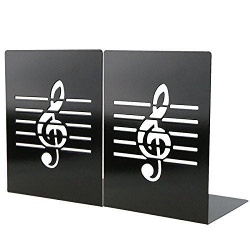 Unique Music Notes Book Stands Metal Bookends For