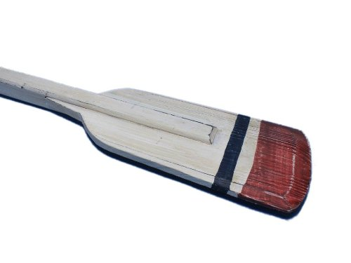 - Hampton Nautical  Wooden Bristol Squared Rowing Oar with Hooks, 36