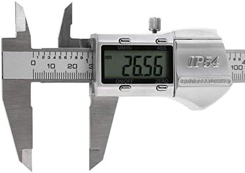 GJNVBDZSF Measuring Tools Vernier Caliper, 0-150mm Measuring Range IP54 High Accuracy LCD Digital Vernier Caliper Micrometer Gauge Measuring Tool for Precise Measurement