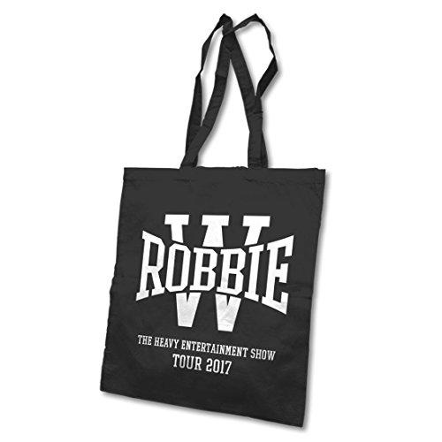 Robbie Williams, Borsa tote donna nero Black