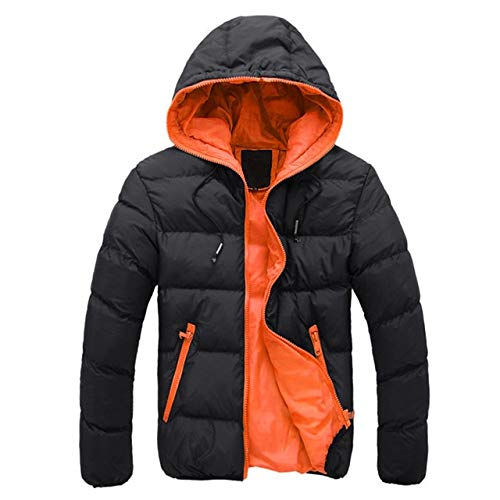 Amazon.com: XuBa Winter Spring Parka Jacket Men Fashion ...
